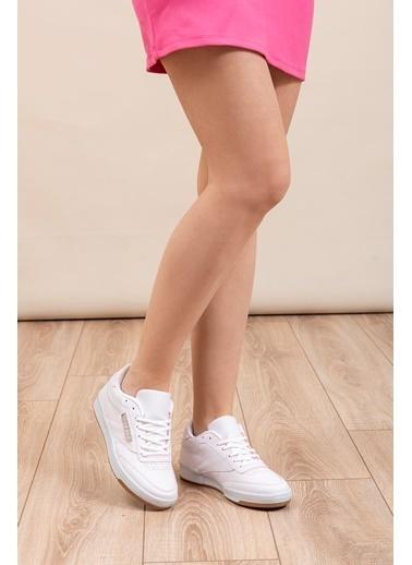 Tonny Black Tonny Black Tb107 Bağcık Desen Fuşya Spor Ayakkabı Beyaz
